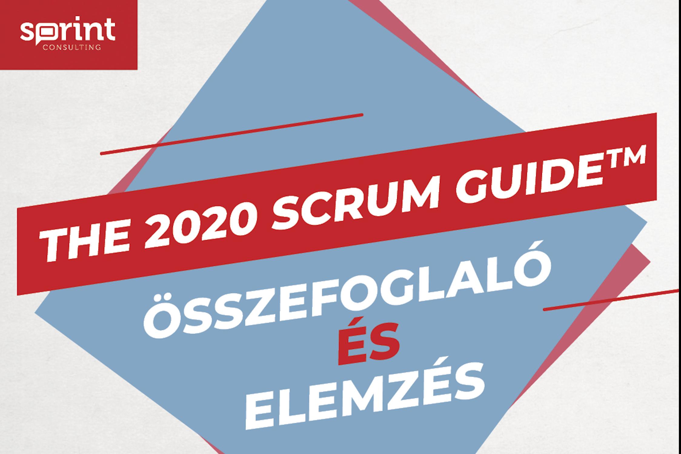 Miben változott a Scrum az új 2020-as Scrum Guide megjelenésével?