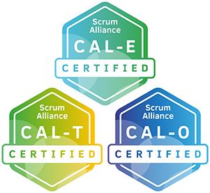 Certified Agile Leadership training Essentials, Teams, Organisations badge